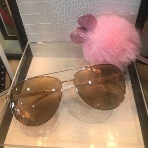 MICHAEL KORS rose gold sunglasses NWT